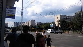 МАЗ-215 069 в Киеве. 2018. Маршрут 99.
