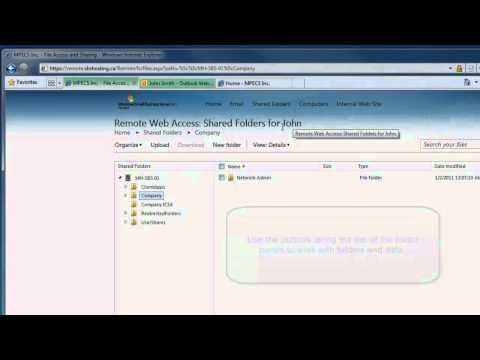 11 01 12 SBS 2011 Remote Web Access Introduction