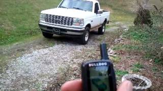 1995 F-150 With Bulldog Deluxe 500 Remote Starter