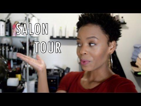 IN-HOME SALON TOUR + PORTABLE SHAMPOO BOWL 💋