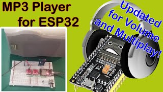 A Better MP3 ESP32 Music Player! Play many MP3's from SD card with volume control. screenshot 5