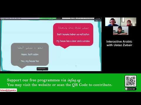 Day 3 Interactive Arabic Workshop with Ustaz Zubair