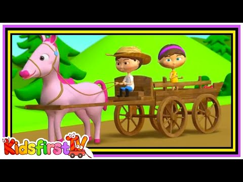 Horsey, Horsey don't you stop song for kids.