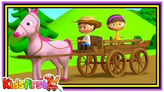 horsey horsey dont you stop song for kids