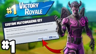 FORTNITE CUSTOM MATCHMAKING SCRIMS EU (FORTNITE CUSTOM MATCHMAKING LOBBIES)