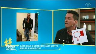 Léo Dias sobre Naldo Benny: O que ele fez comigo é triste