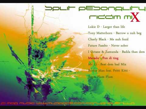 Split Personality Riddim Mix [September 2010]