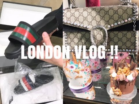 A DAY IN LONDON W/ LIAM |  LUXURY SHOPPING AND ALMOST ROBBED !! | vlog