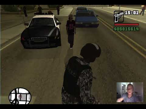 2 способа как стать полицейским в GTA SAN ANDREAS (моды)