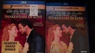 Shakespeare in Love Blu-ray Unboxing - (1998)