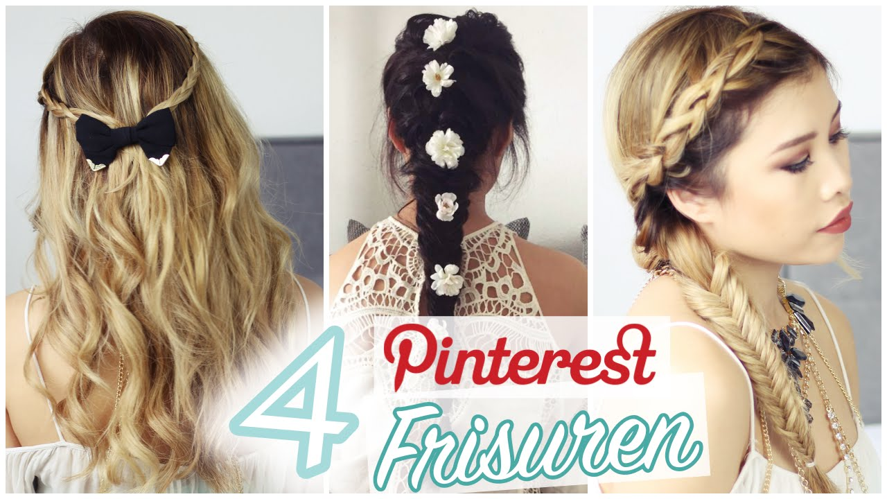Pinterest frisuren f r abiball hochzeit etc l kisu youtube for Frisuren pinterest