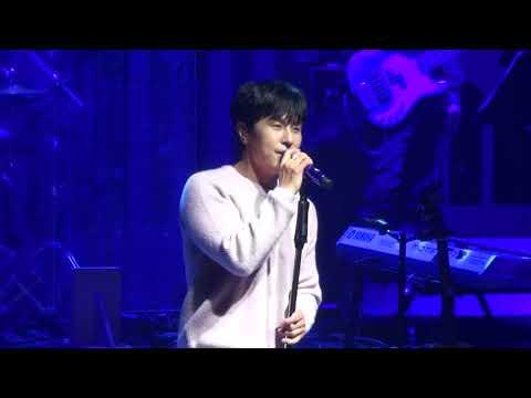 20171231 김동완 KimDongWan 소극장 콘서트 두번째 외박 지구가 예쁜 이유
