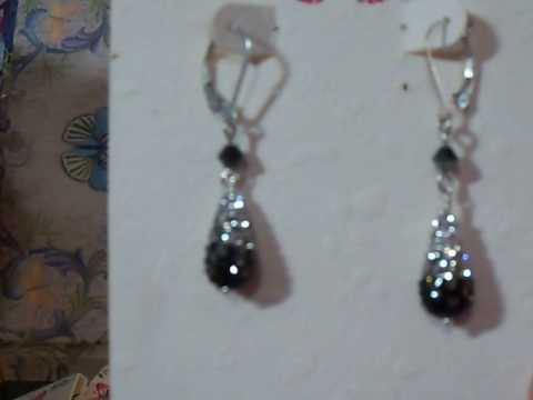 V161_Sterling or Argentium Silver Earrings for Sale - Handmade
