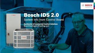 Bosch IDS 2.0 Control Board System Information Fred C.