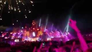 David Guetta @ Tomorrowland 2015 - Fireworks
