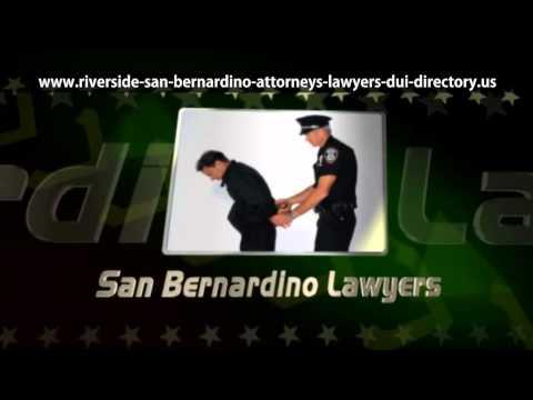 San Bernardino Defense Lawyers