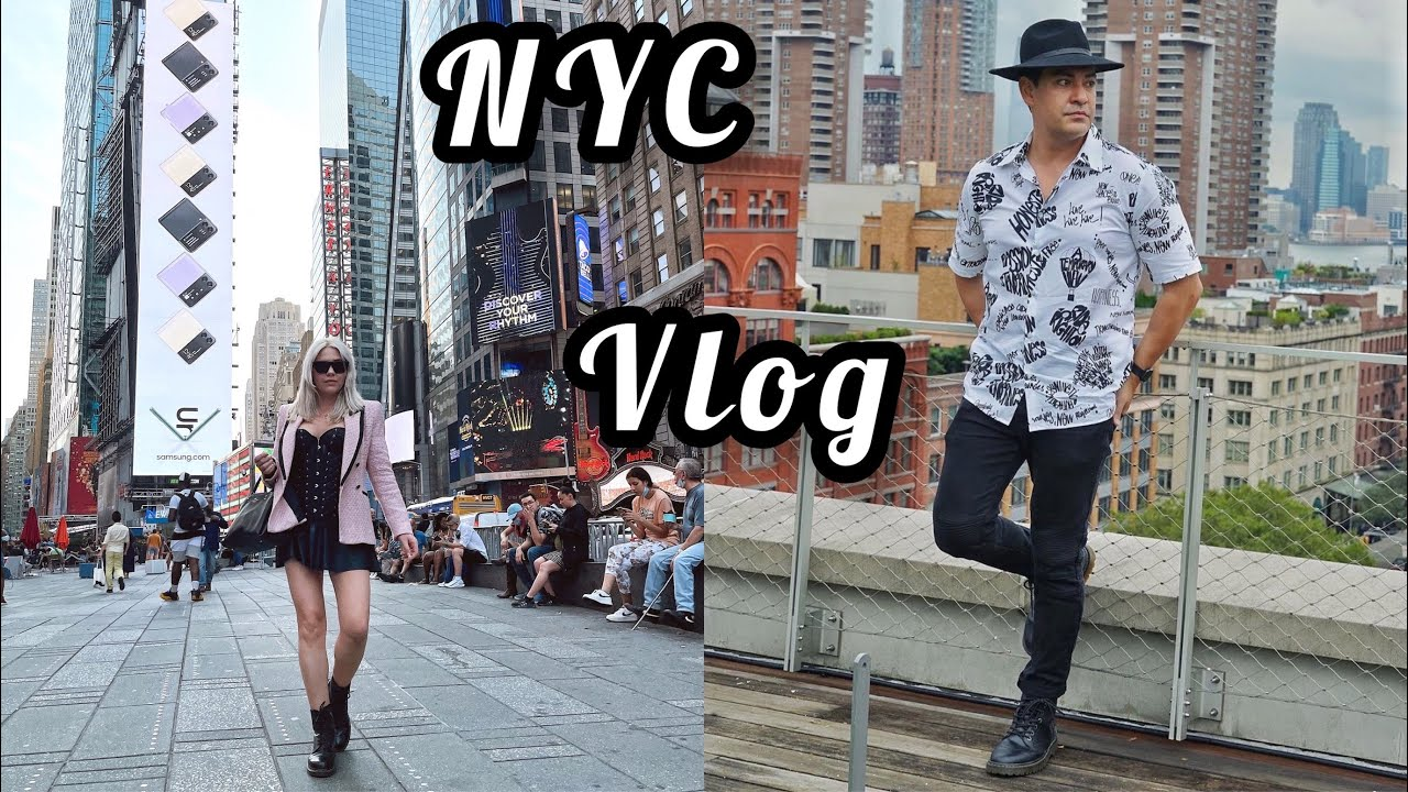 NYC travel vlog part 1   Our first trip to New York city together   We are Traveling to NYC 2021