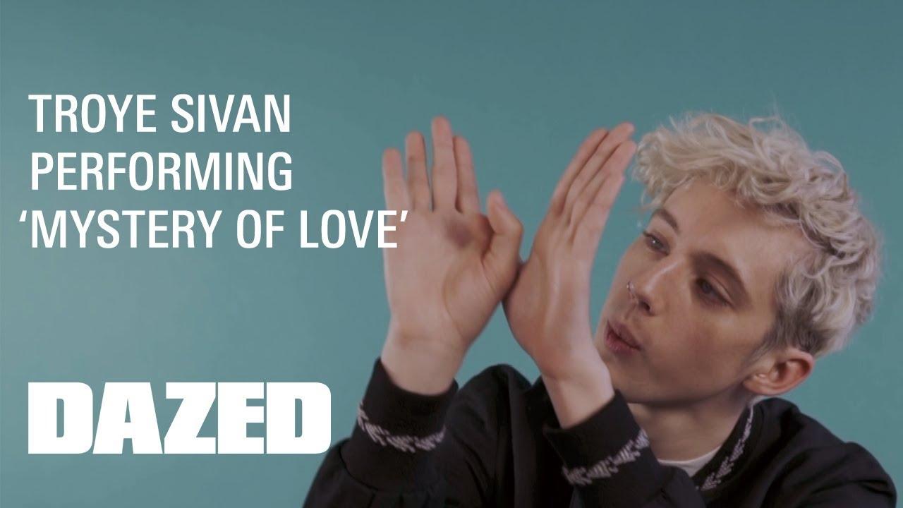 Znalezione obrazy dla zapytania Troye Sivan 'Mystery of Love'