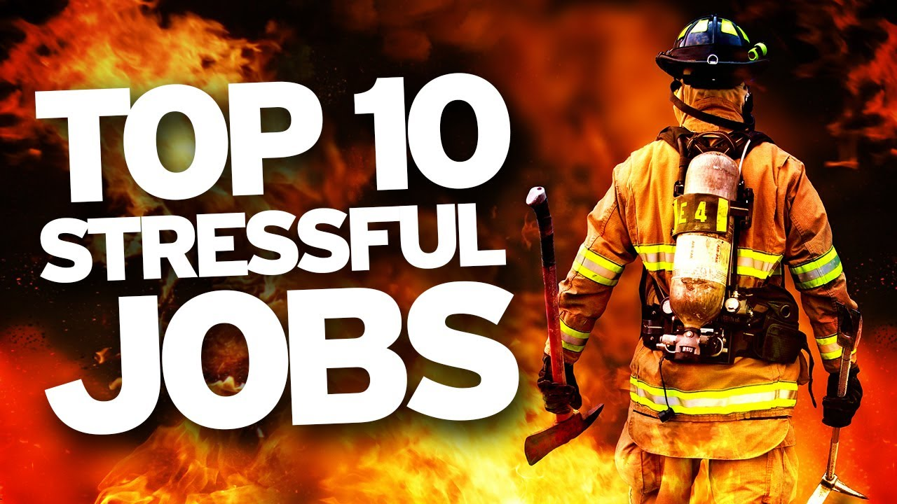 the top ten most stressful jobs the top ten most stressful jobs