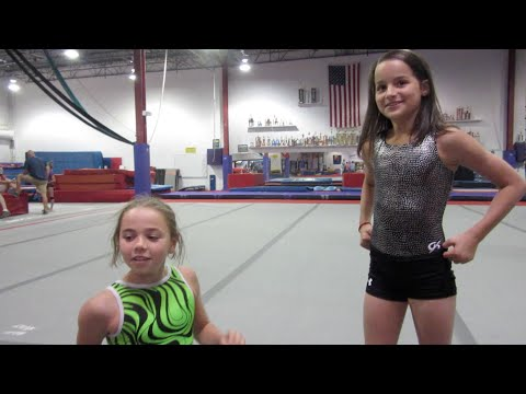 twin babies meet bratayley gymnastics