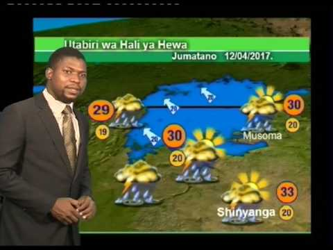 Tanzania Weather Forecast  11/04/2017