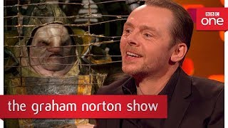 Simon Pegg has now appeared in Star Trek, Star Wars and Doctor Who - The Graham Norton Show
