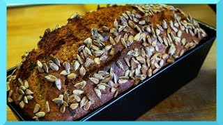 Dinkel Vollkornbrot Brot backen - 5 Minuten Brot Rezept