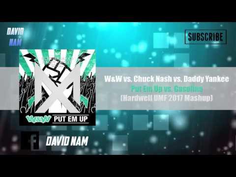 Put Em Up vs. Gasolina  (Hardwell UMF 2017 Mashup) [David Nam Edit]