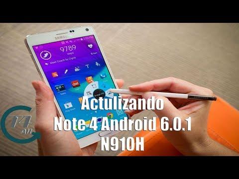 LA MEJOR ROM!! eRobotROM V29 para Galaxy Note 4 Exynos (HUELLA