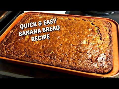 Quick & Easy Banana Bread Recipe || Homemade Banana Bread Your Kids Will Love
