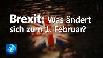Brexit: Großbritannien verlässt die Europäische Union.