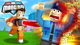 ROBLOX MAD CITY DEATH RAY!!