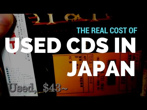 The real cost of used CDs in Japan