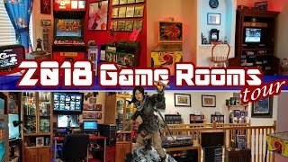 2018 Game Rooms Tour! Complete Overview of our Video Game Collection
