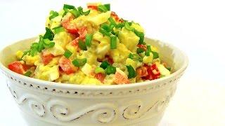 видео Как приготовить американский картофельный салат?