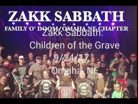 Zakk Sabbath: Children of the Grave @ The Waiting Room in Omaha