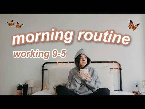 7 AM ☀️full Time Job Morning Routine | Working 9-5