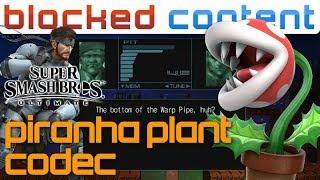 PIRANHA PLANT vs Snake CODEC CALL Conversation (Super Smash Bros. Ultimate) thumbnail