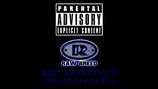 Raw Breed Killa Instinct 1996 Hardcore Hip Hop Album
