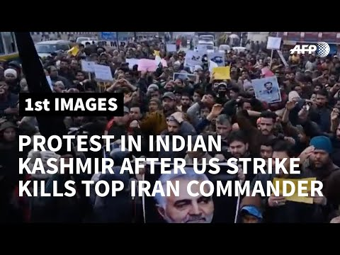 Anti-US protest in India after Iran commander is killed in air strike | AFP