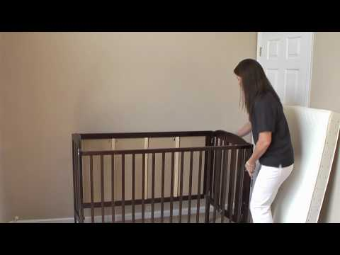 Crib Rental Demonstration From Coastal Baby Rentals In New Jersey