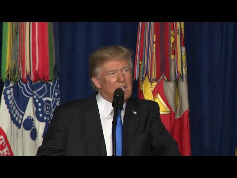 Trump makes decision on troops in Afghanistan