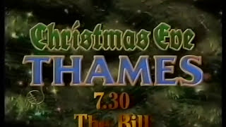 Thames Television continuity 9th December 1991
