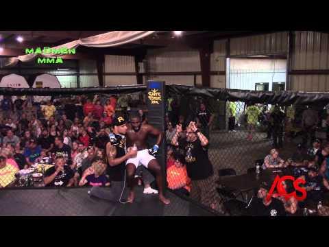 Madmen MMA Delson Petrie Memorial Event Travis Ellul vs Dwight Hunter 170