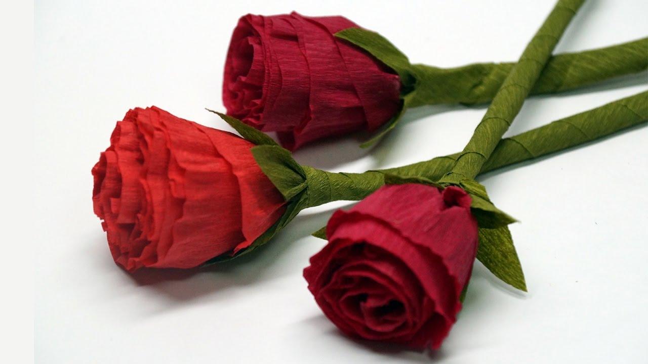 diy rose paper how