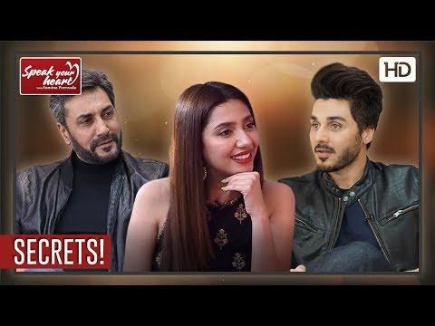 Mahira Khan | Ahsan Khan | Adnan Siddiqui | Reveal Their Secrets | Best Of Speak Your Heart