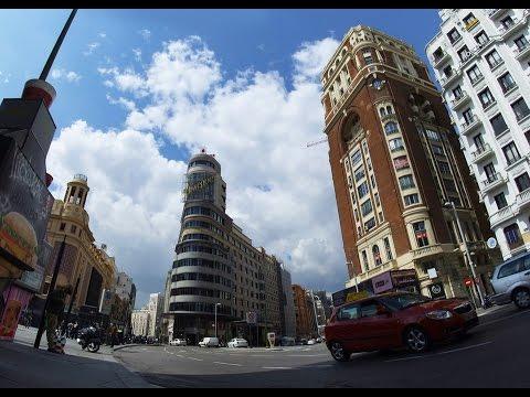 One day trip to Madrid,   Gran Vía, Callao, Plaza de España, Gate of the Sun and Temple of Debod