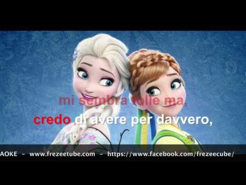 Frozen - Oggi per la prima volta - Karaoke con testo