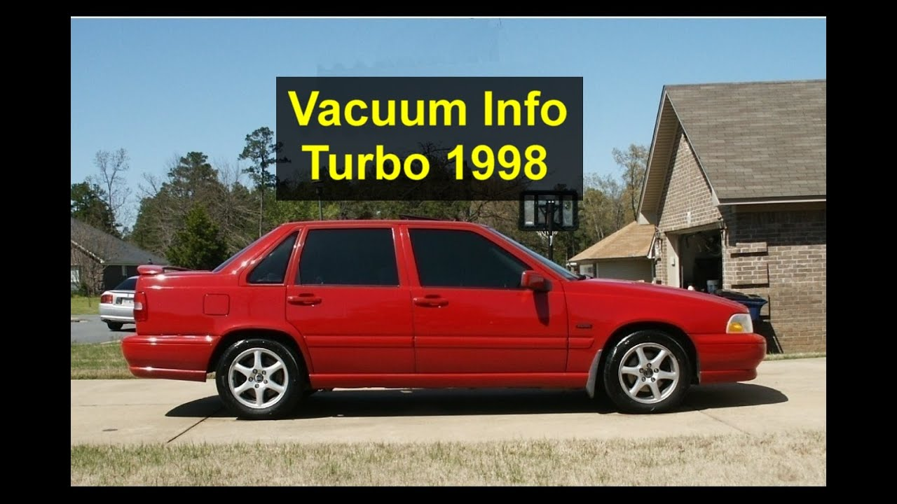 hight resolution of vacuum hoses on a 1998 volvo v70 glt turbo votd