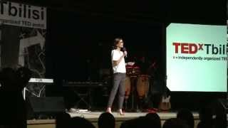 The Invisible Hand - Benevolent Sexism?: Tamar Vashakidze at TEDxTbilisi